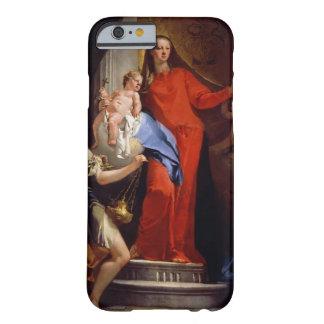 Madonna av radbandet (olja på kanfas) barely there iPhone 6 skal