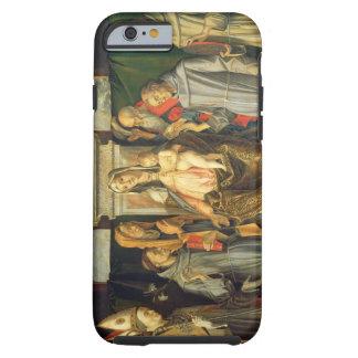 Madonna installerar, 1480 (olja på panel) tough iPhone 6 fodral
