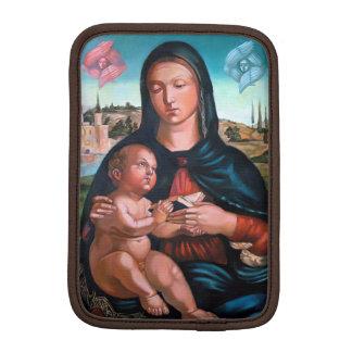 Madonna med Cherubs Sleeve För iPad Mini