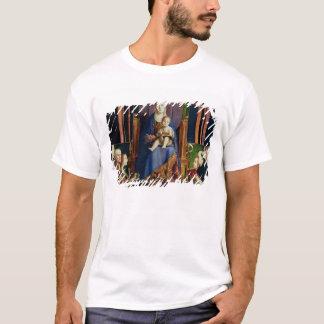 Madonna med Sanktt Nicholas av Bari T Shirt
