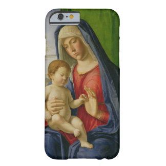 Madonna och barn, 1490s barely there iPhone 6 fodral