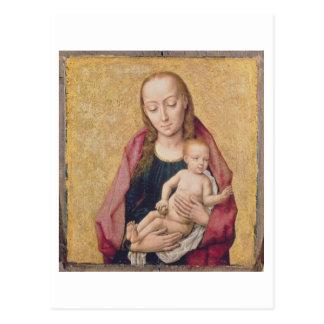 Madonna och barn 2 vykort