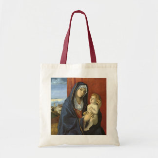 Madonna och barn av Giovanni Bellini Tygkasse