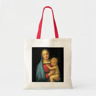 Madonna och barn, Madonna del Granduca vid Raphael Tygkasse