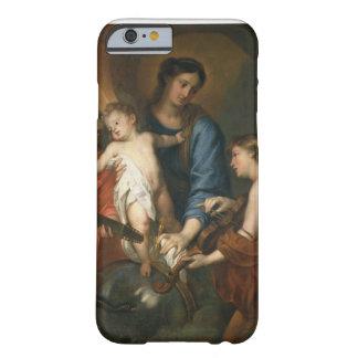 Madonna och barn med änglar barely there iPhone 6 fodral