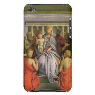 Madonna och barn med åtta Saints, 1520s (humör Barely There iPod Skydd