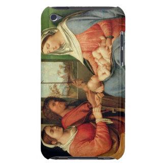 Madonna och barn med Saints 2 Barely There iPod Skal