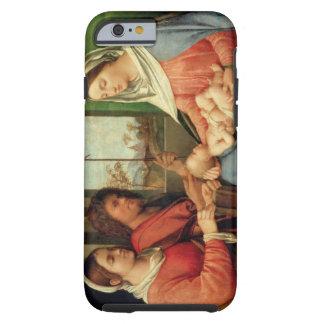 Madonna och barn med Saints 2 Tough iPhone 6 Case