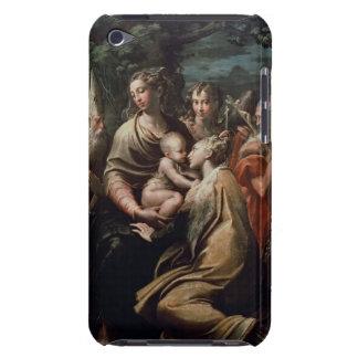 Madonna och barn med Saints, c.1529 (olja förser iPod Case-Mate Fodral