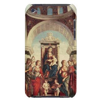 Madonna och barn med Saints iPod Touch Hud