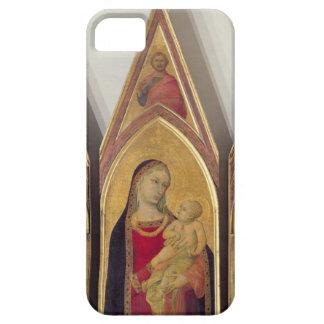 Madonna och barn med SS. Nicholas och Proculus, iPhone 5 Fodral