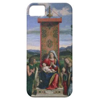Madonna och barn med St John det baptistiskt och iPhone 5 Hud