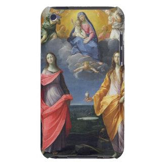Madonna och barn med St. Lucy och Mary Magdalene iPod Touch Skydd