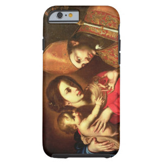 Madonna och barn med St. Zenobius Tough iPhone 6 Fodral