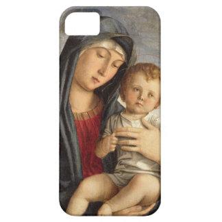 Madonna och barn (olja på panel) 2 iPhone 5 Case-Mate fodral