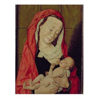 Madonna och barn (panelen) vykort
