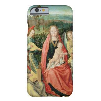 Madonna och barn som omges av änglar barely there iPhone 6 fodral