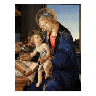 Madonna och barn vykort