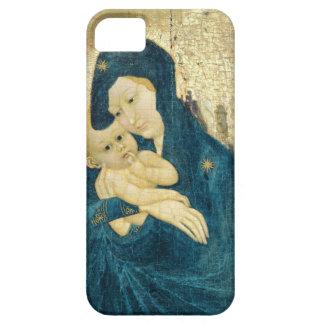 Madonna och barnet, Bourgogne skolar (olja på iPhone 5 Cover