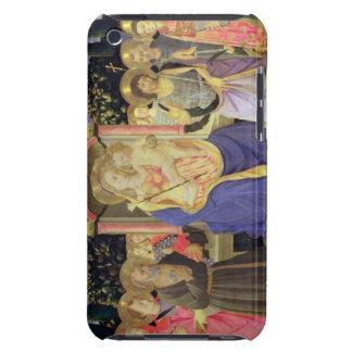 Madonna och barnet installerar med saints Case-Mate iPod touch skydd
