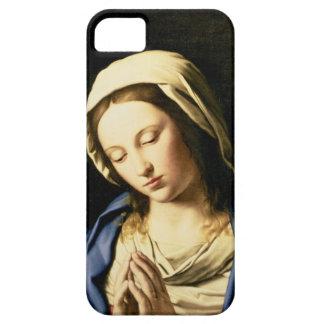 Madonna på bönen (olja på kanfas) iPhone 5 fodral
