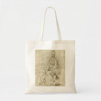 Madonna w Kristus & St John det baptistiskt vid Tygkasse