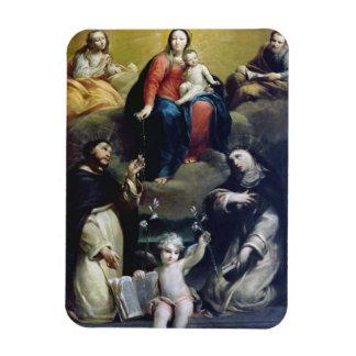 Madonnaen av radbandet med SS Dominic, Catheri Magnet