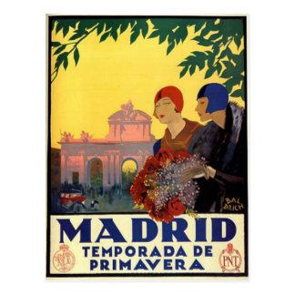 Madrid Temporada de Primavera - Vykort