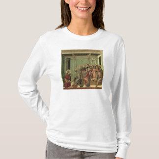 Maesta: Kristus som tvättar lärjunge fot Tshirts