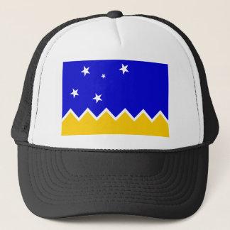 Magallanes Chile, Antarktis flagga Keps