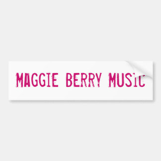 Maggie bärmusik bildekal