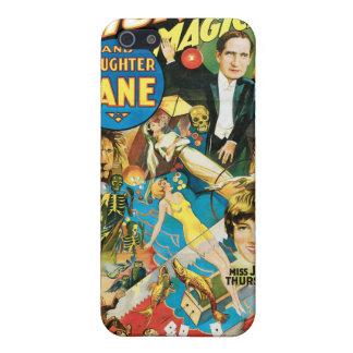Magi för vintage för Thurston trollkarl- & Jane ~ iPhone 5 Fodral