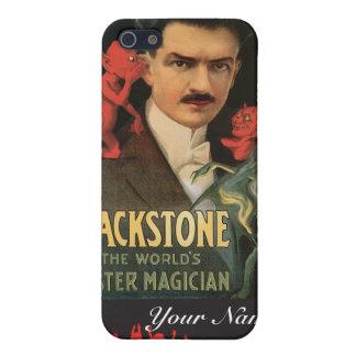 Magi för vintage för trollkarl för Blackstone ~ iPhone 5 Cases