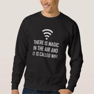 Magi i luften är Wifi Lång Ärmad Tröja