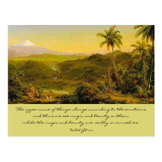magi och skönhet vykort