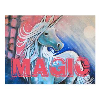 Magi unicornen vykort