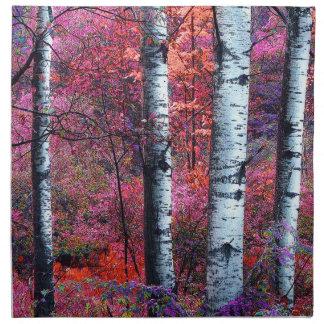 Magical skog tygservett