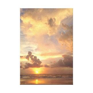 Magical soluppgång canvastryck