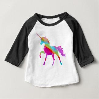Magical sparkly regnbåge som kråma sig unicorn t shirt