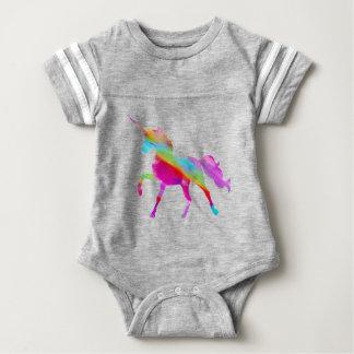 Magical sparkly regnbåge som kråma sig unicorn t-shirts