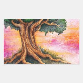 Magical träd - klistermärke