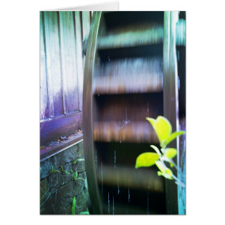 Magical Watermill Hälsningskort