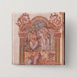 Magina som besöker kungen Herod Standard Kanpp Fyrkantig 5.1 Cm