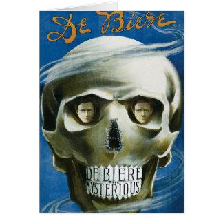 Magisk affisch för vintage, Arnold De Ciere C. Hälsningskort