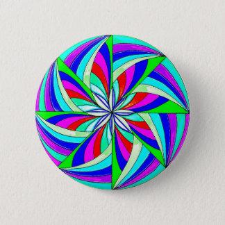Magisk mandala standard knapp rund 5.7 cm