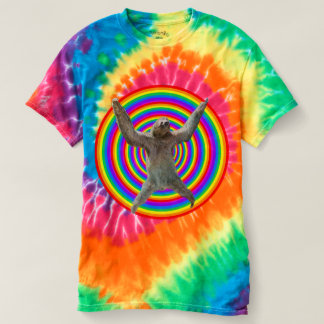 Magisk regnbågeSloth Tee Shirt
