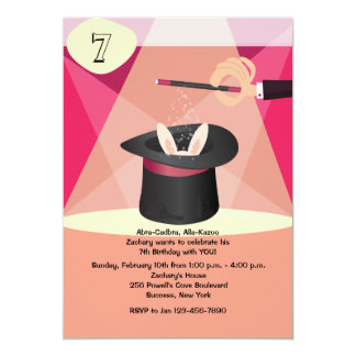 Magisk Showinbjudan 12,7 X 17,8 Cm Inbjudningskort