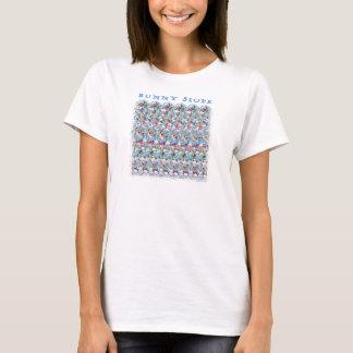 """Magiska Eye® 3D """"kanin sluttar"""" T-tröja Tee Shirt"""