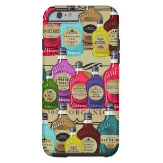 Magiska flaskor för dryckApothecaryHalloween Tonic Tough iPhone 6 Skal