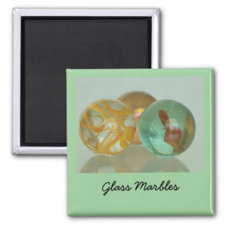 Magnet - exponeringsglasmarmorar